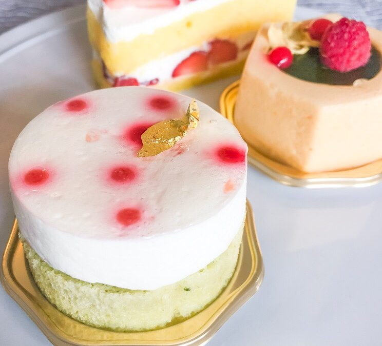 京都『ラフラムブルー』さんの5周年限定ケーキは爽やかなバジルの香り!