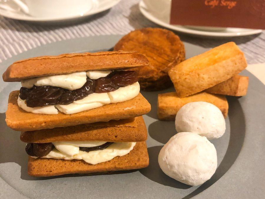 京都『カフェセルジュ』さんの安心でやさしいバターサンド